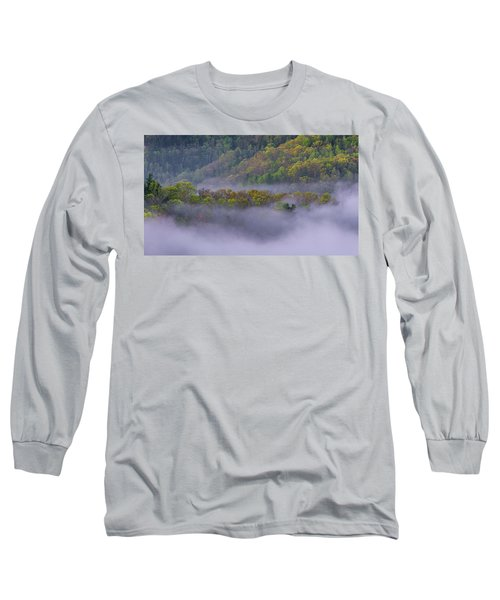 Fog In The Hills Long Sleeve T-Shirt