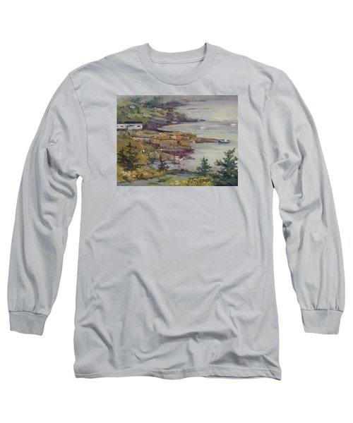 Fog Lifting Long Sleeve T-Shirt by Jane Thorpe