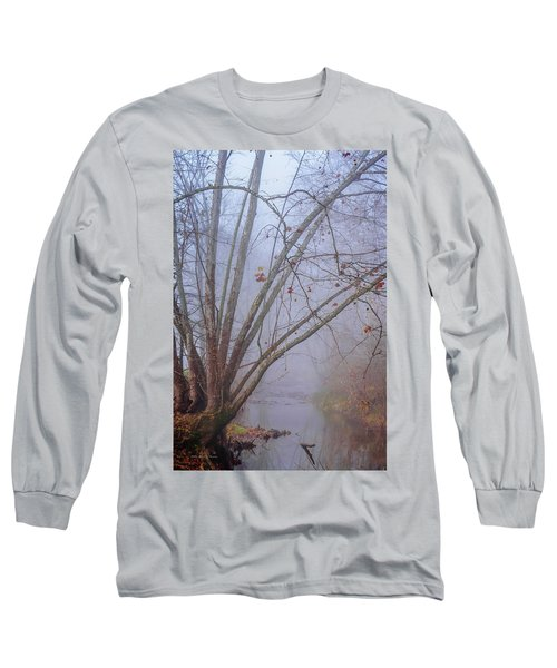 Fog On Buffalo Creek 1 Long Sleeve T-Shirt