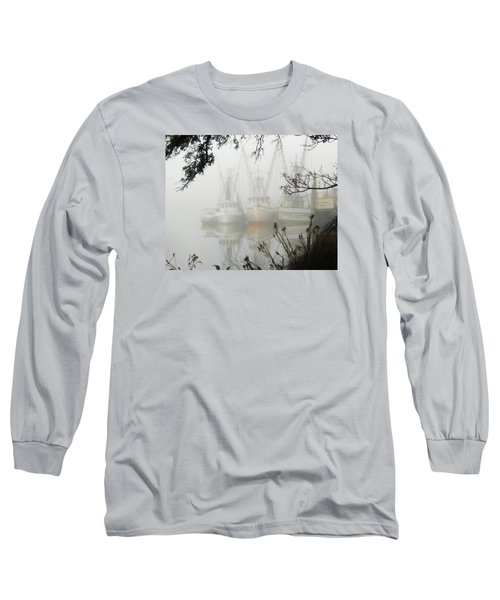 Fogged In Long Sleeve T-Shirt by Deborah Smith