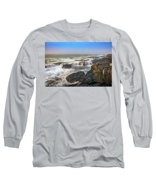 Foggy Morning On Giant's Stairs Long Sleeve T-Shirt