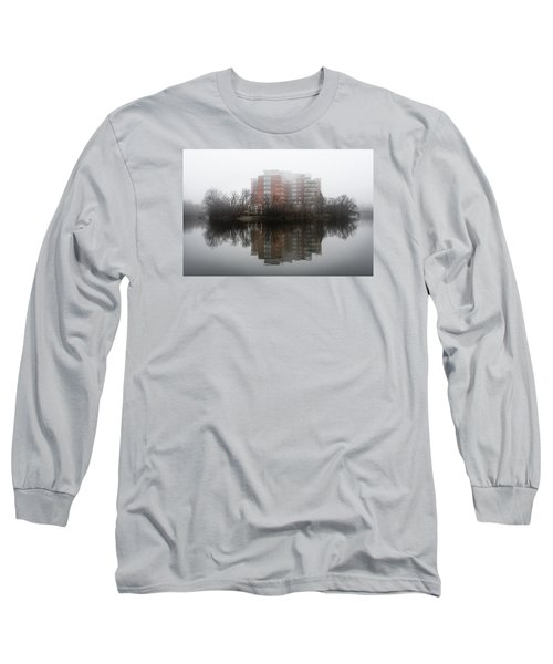Foggy Reflection Long Sleeve T-Shirt by Celso Bressan