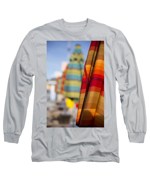 Long Sleeve T-Shirt featuring the photograph Folded by Lora Lee Chapman