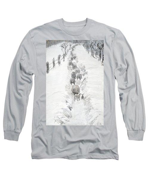 Follow The Flock Long Sleeve T-Shirt