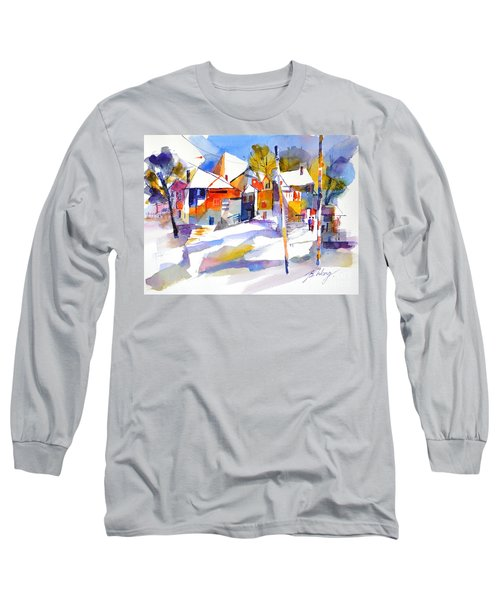 For Love Of Winter #2 Long Sleeve T-Shirt by Betty M M Wong