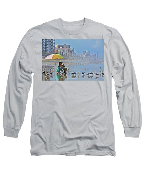 For The Birds Long Sleeve T-Shirt