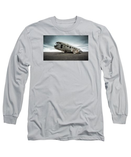 Forced Landing 2 Long Sleeve T-Shirt by Brad Grove