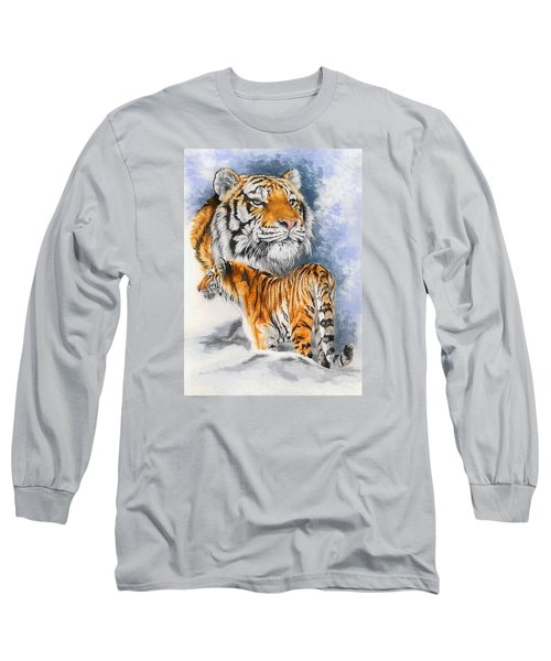 Forceful Long Sleeve T-Shirt by Barbara Keith