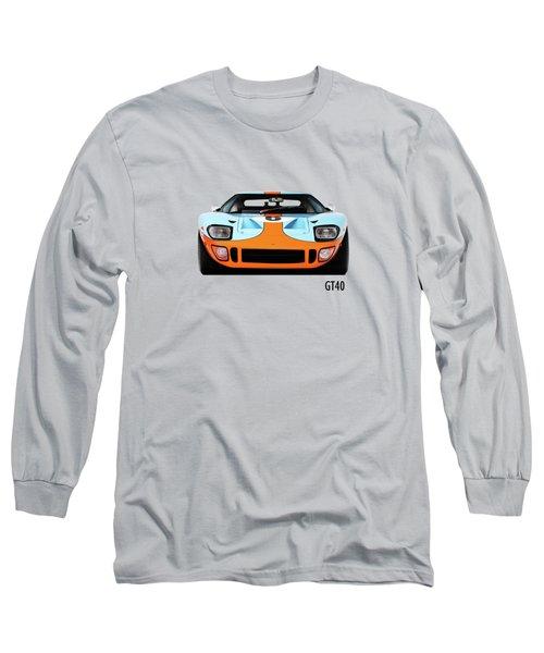 Ford Gt40 Mk 1 Long Sleeve T-Shirt