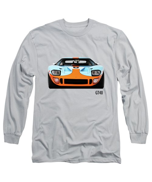 Ford Gt40 Mk 1 Long Sleeve T-Shirt