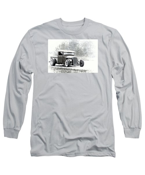 Ford Hot Rod Long Sleeve T-Shirt by Athena Mckinzie