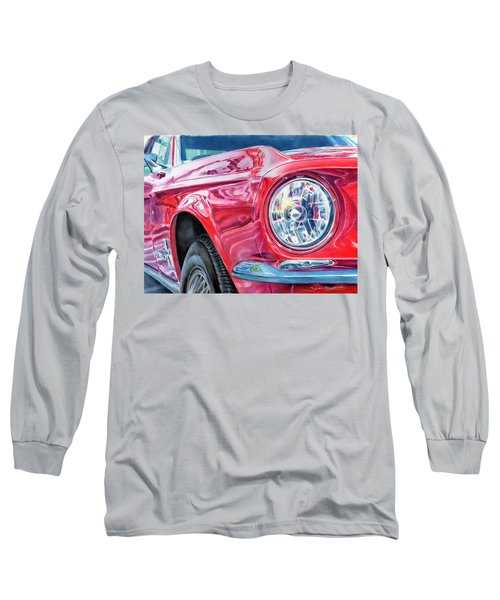 Ford Mustang Long Sleeve T-Shirt