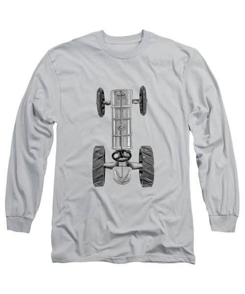 Fordson Tractor Top Bw Long Sleeve T-Shirt