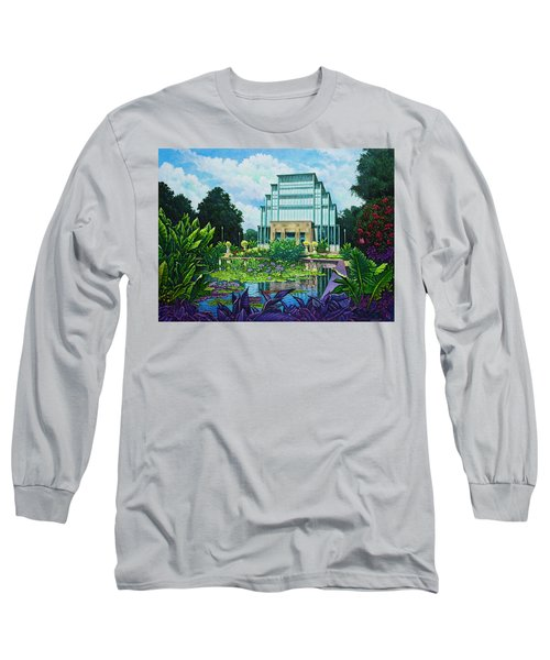 Forest Park Jewel Box Long Sleeve T-Shirt by Michael Frank