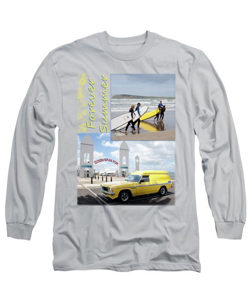 Long Sleeve T-Shirt featuring the photograph Forever Summer 6 by Linda Lees