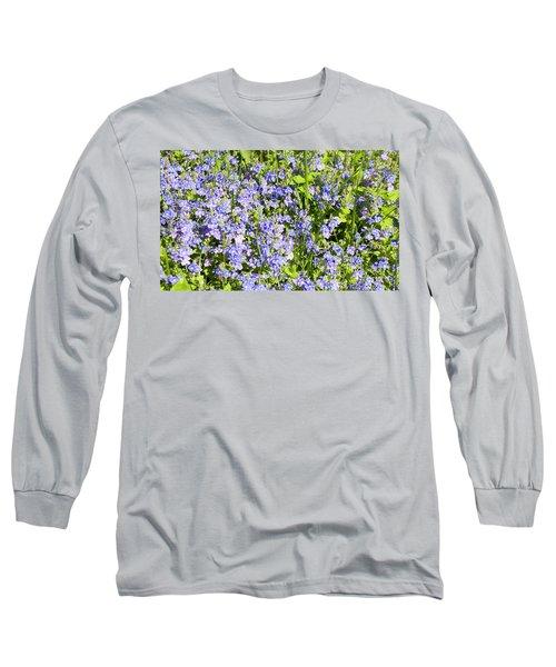 Forget-me-not - Myosotis Long Sleeve T-Shirt