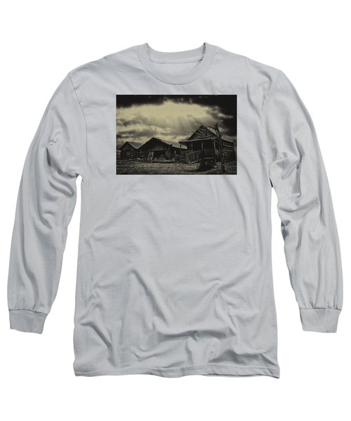 Forgotten Years Long Sleeve T-Shirt by B Wayne Mullins