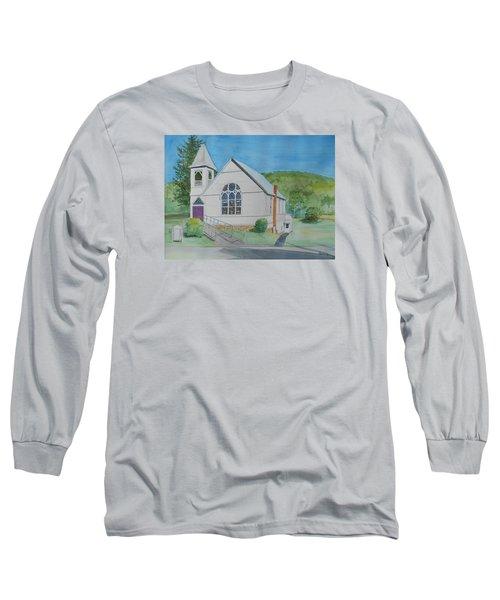 Former Rush Church Long Sleeve T-Shirt by Christine Lathrop