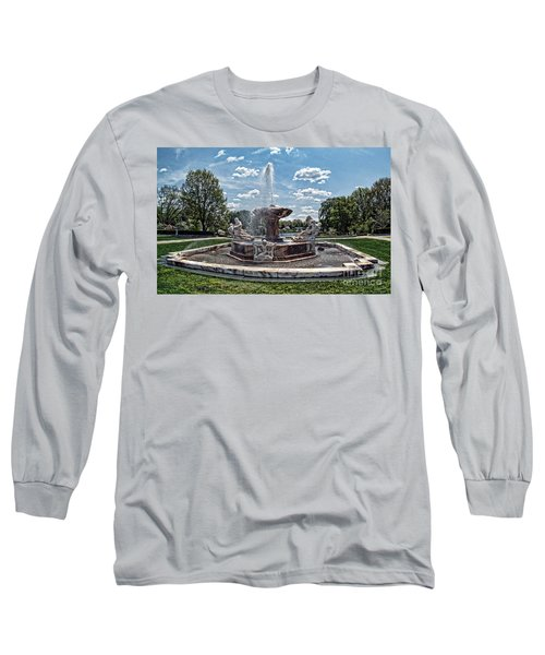 Fountain - Cleveland Museum Of Art Long Sleeve T-Shirt