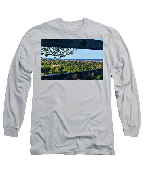 Framed View Long Sleeve T-Shirt