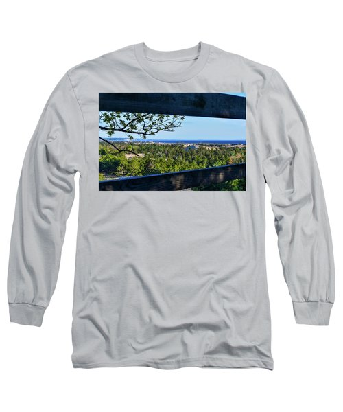 Framed View Long Sleeve T-Shirt