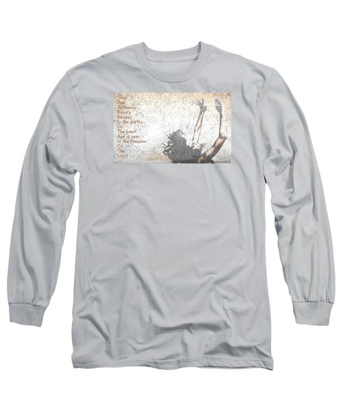 Free Spirit Long Sleeve T-Shirt by Theresa Marie Johnson