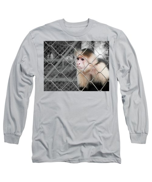 Freedom Not Bigger Cage Long Sleeve T-Shirt