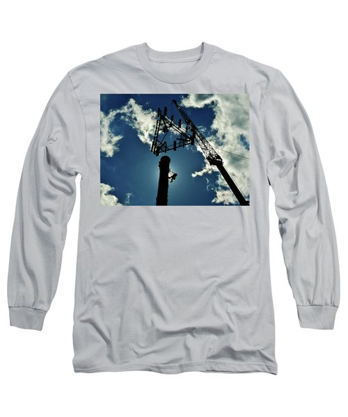 Long Sleeve T-Shirt featuring the photograph Freeland by Robert Geary