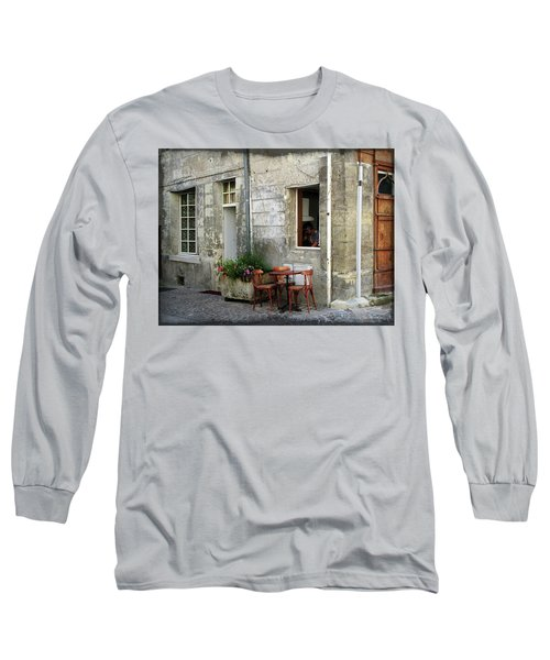 French Countryside Corner Long Sleeve T-Shirt by Joan  Minchak