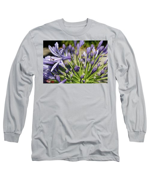 Long Sleeve T-Shirt featuring the photograph French Quarter Floral by KG Thienemann