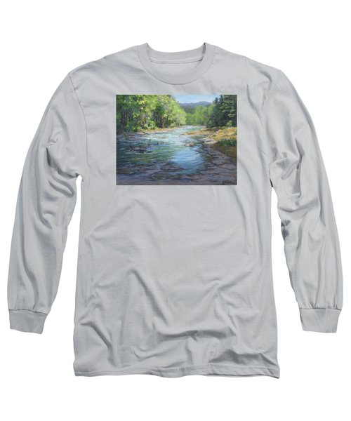 Fresh Greens Long Sleeve T-Shirt by Karen Ilari