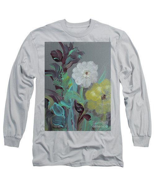 Long Sleeve T-Shirt featuring the painting Fresh Start  by Robin Maria Pedrero