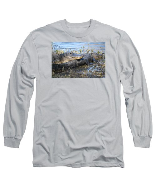 Long Sleeve T-Shirt featuring the painting Friend, I Got Your Back by Roena King