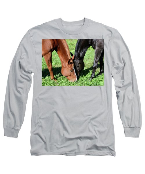 Friends Forever Long Sleeve T-Shirt by Julia Wilcox
