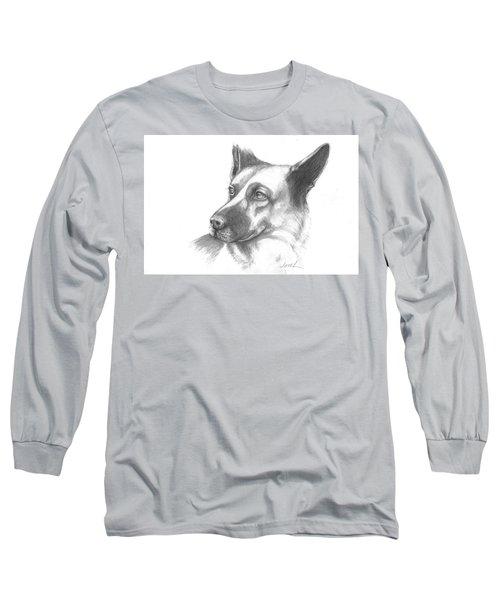 Fritz The German Shepherd Long Sleeve T-Shirt