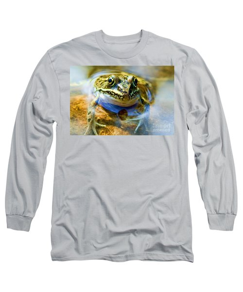 Frog In Pond Long Sleeve T-Shirt