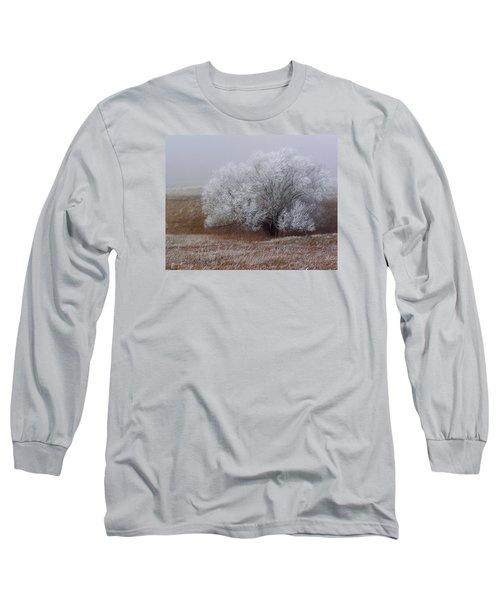 Frost And Fog Long Sleeve T-Shirt by Alana Thrower