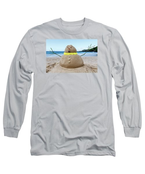 Frosty The Sandman Long Sleeve T-Shirt