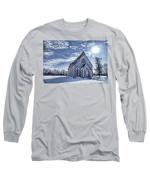 Frozen Land Long Sleeve T-Shirt by Alana Ranney