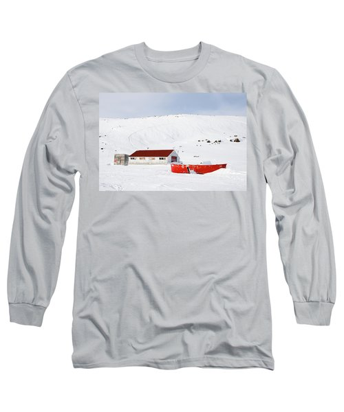 Frozen Life Long Sleeve T-Shirt by Nick Mares