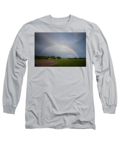 Full Double Rainbow Long Sleeve T-Shirt
