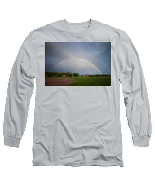 Full Double Rainbow Long Sleeve T-Shirt