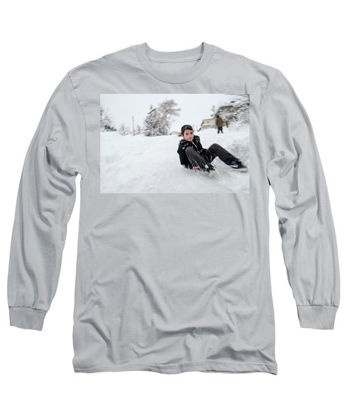 Fun On Snow-1 Long Sleeve T-Shirt