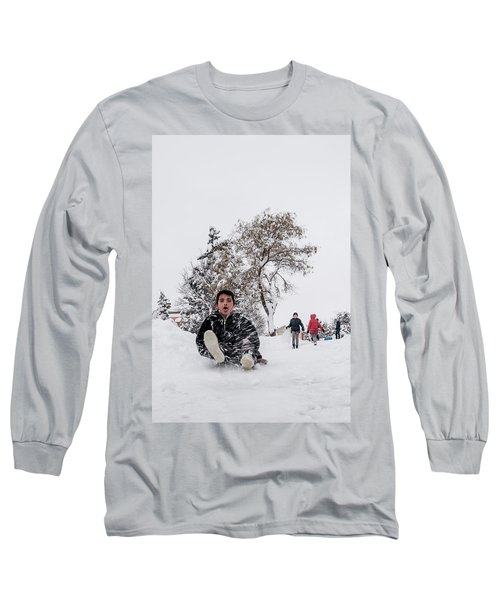 Fun On Snow-2 Long Sleeve T-Shirt