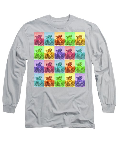 Fun Spring Bunnies Long Sleeve T-Shirt