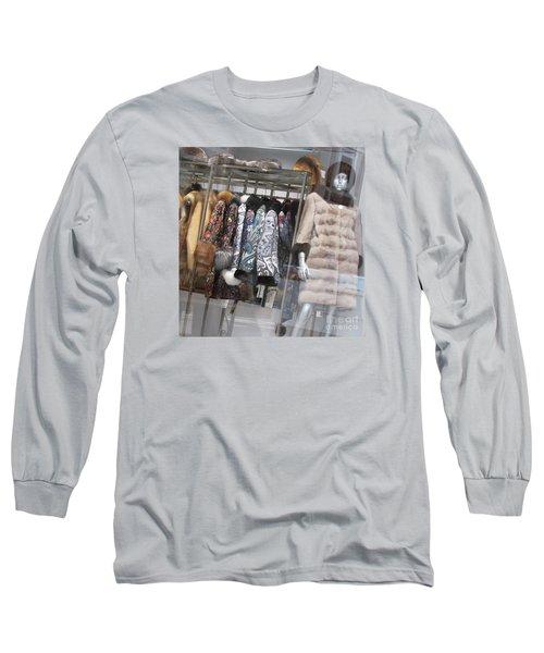 Furs Long Sleeve T-Shirt by Anna Yurasovsky