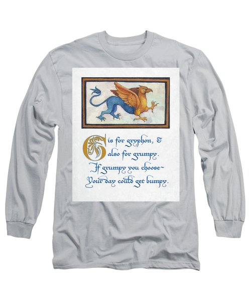 G Is For Gryphon Long Sleeve T-Shirt