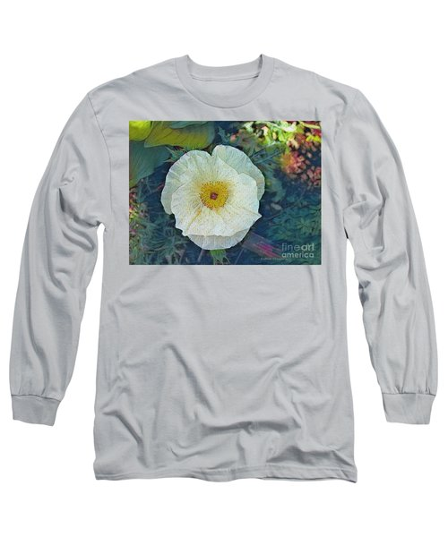Garden Beauty Long Sleeve T-Shirt by Kathie Chicoine