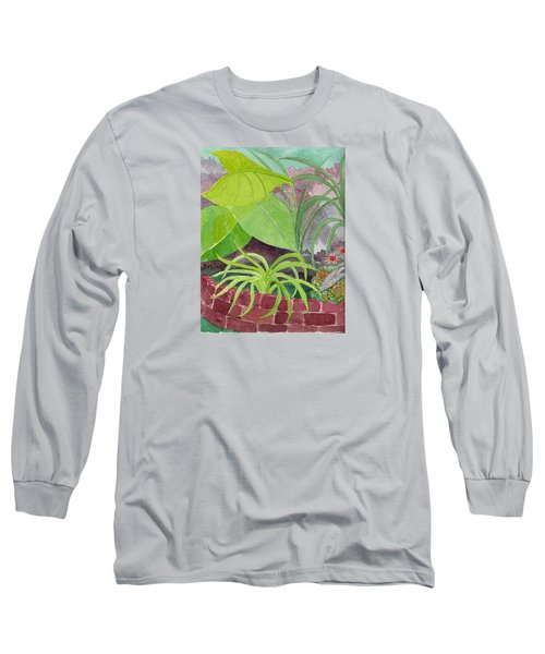 Garden Scene 9-21-10 Long Sleeve T-Shirt