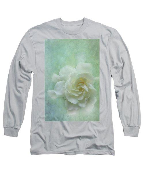 Gardenia Long Sleeve T-Shirt by Catherine Alfidi